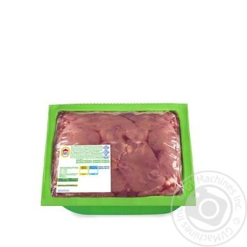 Печень Наша ряба цыпленка-бройлера охлаждённая вакуумная упаковка 650г - купить, цены на Метро - фото 1