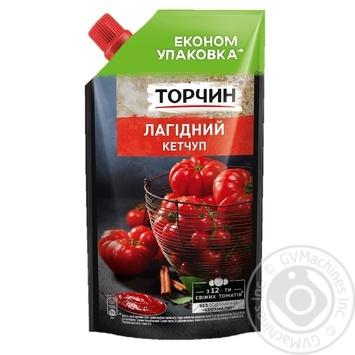 Кетчуп Торчин Нежный 400г - купить, цены на Novus - фото 1