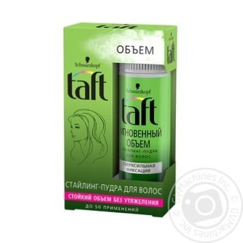 Стайлинг-пудра Taft для волос 10г