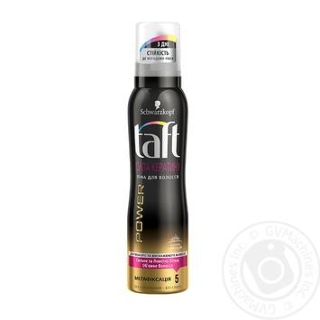 Foam Taft to conclude 150ml