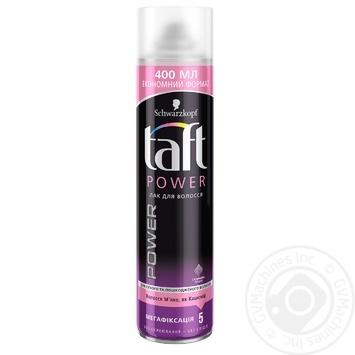 Лак для волос Taft Нежность кашемира 400мл