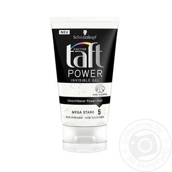 Гель для волос Taft Power Невидимая фиксация 150мл