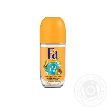 Дезодорант роликовый Fa Bali kiss аромат манго и цветка ванили 50мл
