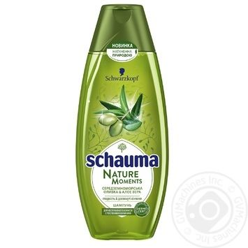 Shampoo Schauma with aloe vera for hair 400ml - buy, prices for Novus - image 1