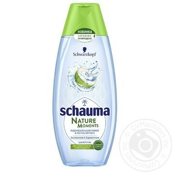 Schauma Nature Moments Coconut Water And Lotus Flower Hair Shampoo 400ml - buy, prices for Tavria V - image 1