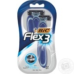 BIC Flex 3 Comfort for shaving razor 3pcs