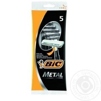 BIC Metal razor 5pcs - buy, prices for Novus - image 1
