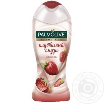 Гель-крем для душа Palmolive Гурмэ Спа Клубничный смузи 250мл - купить, цены на Novus - фото 1