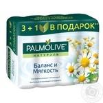 Мыло Palmolive Натюрель Ромашка и витамин Е 4*90г