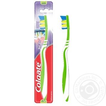 Зубна щітка Colgate Зиг Заг Плюс середньої жорсткості в асортименті - купити, ціни на Ашан - фото 3