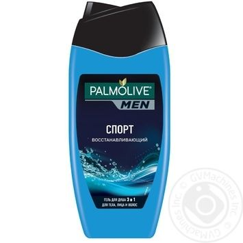 Palmolive Men Sport Regenerating Men's 3in1 Shampoo-gel for Body, Face and Hair 250ml - buy, prices for Novus - image 3