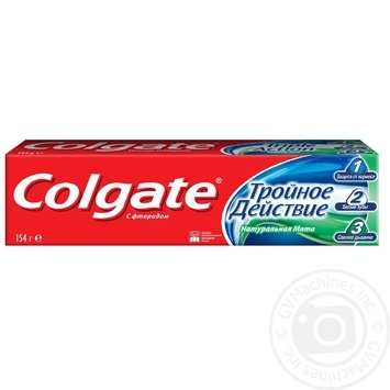 Colgate Triple Action Toothpaste 100ml - buy, prices for Auchan - photo 5