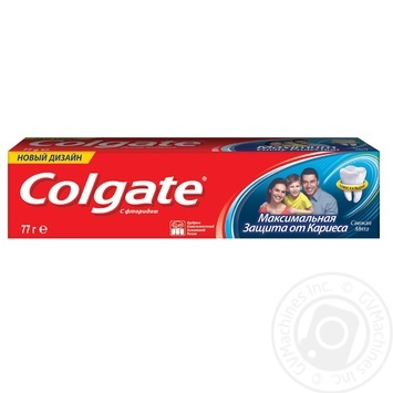 Colgate Triple Action Mint Toothpaste