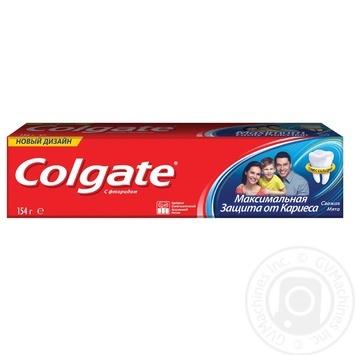 Зубна паста Colgate Максимальний захист від карієсу Свіжа М'ята 100мл - купити, ціни на МегаМаркет - фото 4