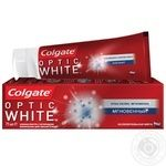 Colgate Optic White With Fluoride Toothpaste