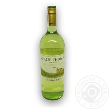 Wine Thomas rath white dry 19% 1000ml glass bottle Germany