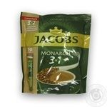 Jacobs Monarch 3in1 instant coffee 10*15g