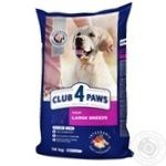 Club 4 lapy for dogs dry food 14kg