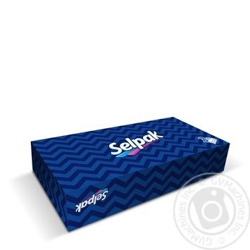 Салфетка гигиенические Selpak Макси в коробке 3шара 100шт - купить, цены на Таврия В - фото 1