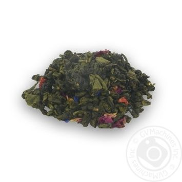 Chayni Shedevry Strawberry With Cream Green Tea Composition - buy, prices for MegaMarket - image 1