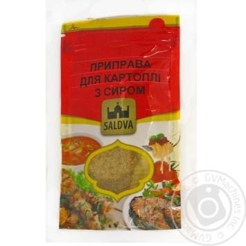 Приправа Saldva для картофеля с сыром 25г - купить, цены на Novus - фото 3