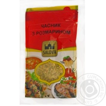 Spices garlic Saldva with rozmarinom 25g - buy, prices for Novus - image 1