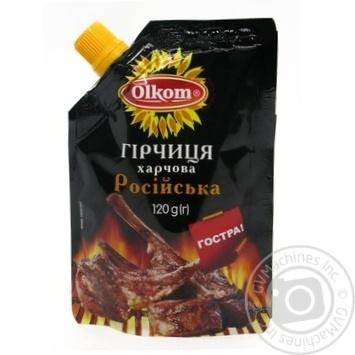 Mustard Olkom Russian 120g