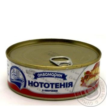 Нототения Аквамарин с овощами в томатном соусе 230г - купить, цены на Novus - фото 3