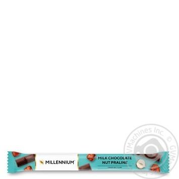 Шоколад Любимов молочный с ореховым пралине 38г