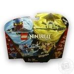 Конструктор Lego Спин-джитсу Ния и Ву 70663