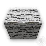Ящик д/хранения Global-Pak Усы картон 34х25х26см шт