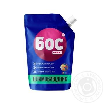 Пятновыводитель Бос плюс Color гель 500мл