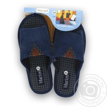 Взуття кімнатне чоловіче Marizel Huk - 755 - купить, цены на Novus - фото 1