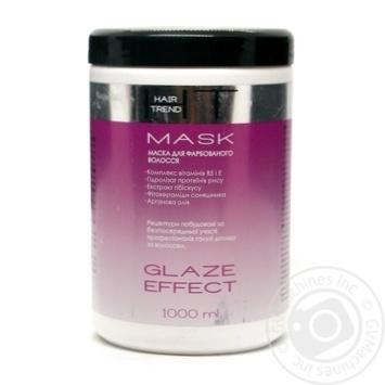 Маска Ефект глазурування для фарбованого волосся Hair Trend 1000 мл