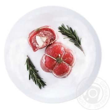 Рулетик з яловичини фарширований охолоджений