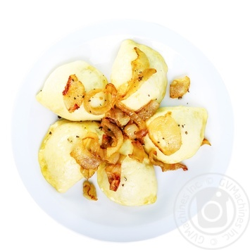 Вареники домашние с картофелем и грибами