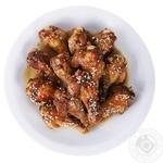 Крылышки в медово-соевом соусе