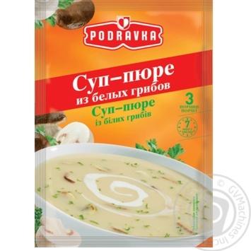 Суп-пюре Podravka из белых грибов 48г - купить, цены на МегаМаркет - фото 1