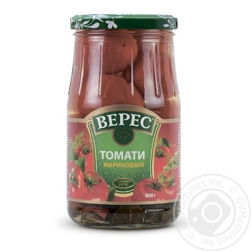 Veres canned tomato 800g