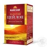 Чай чорний Майский Золотий Цейлон 85г