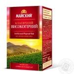 Чай чорний Майский класичний високогірний 85г