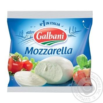 Сыр Гальбани Санта Лючия моцарелла мягкий 48% 125г