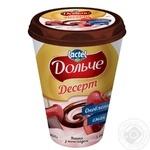 Десерт Дольче Вишня з шоколадом 3,4% 400г - купити, ціни на МегаМаркет - фото 1