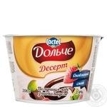 Десерт Дольче полуниця-ківі з шоколадом 3,4% 200г