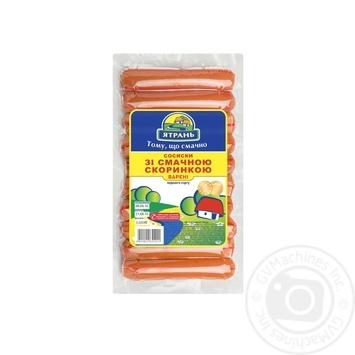 Сосиски Ятрань зі смачною скоринкою - купити, ціни на Метро - фото 1