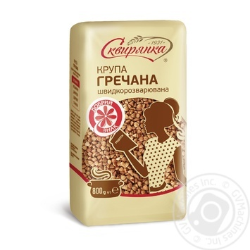 Skvyrianka Buckwheat 800g - buy, prices for Metro - image 1