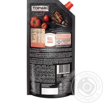 Кетчуп Торчин Нежный 400г - купить, цены на Novus - фото 2
