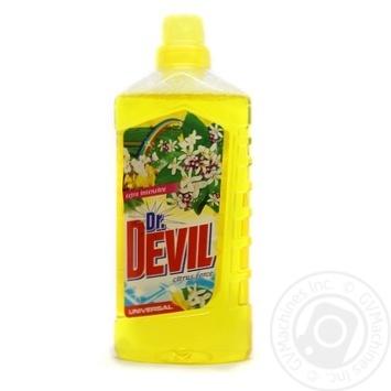 Засіб мийний рідкий універсальний Citrus force Dr. Devil 1л
