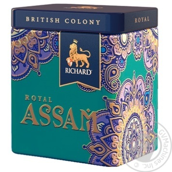 Richard Royal Assam black tea 50g - buy, prices for MegaMarket - image 1