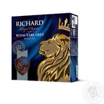 Richard Royal Earl Grey black tea 100pcs*2g